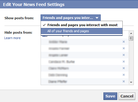 How NOT to be Invisible on the New Facebook Newsfeed | V3B