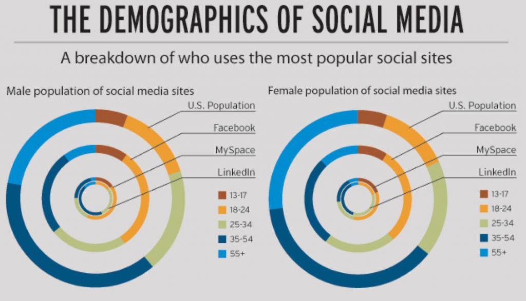 Demographic of LinkedIn Users