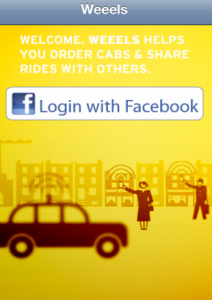 Weeels, Taxi Sharing Made Easy