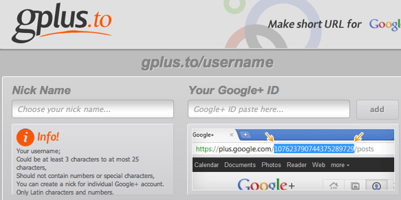 To Grab a Custom URL for Your Google Plus Profile