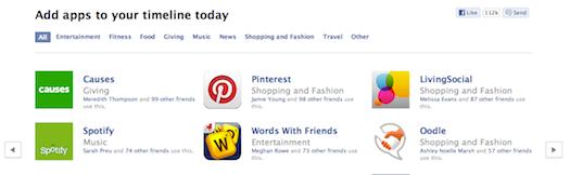 New Facebook apps