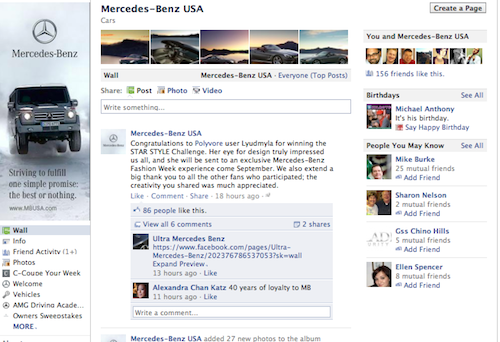 Facebook Timeline for Pages