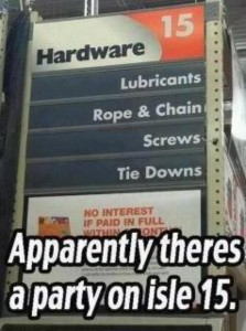 50 Shades of Grey Gas Station Sign