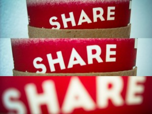 Social sharing influences search