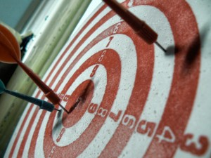 Facebook post targeting feature