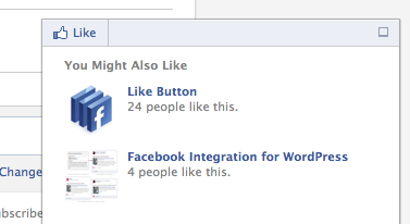 new facebook recommendations bar
