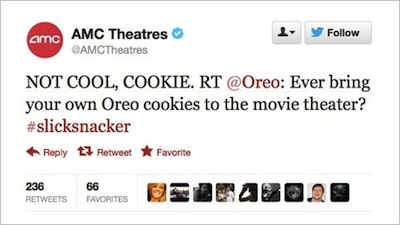 amc tweet to oreo