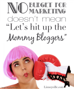 effectively working with mom bloggers