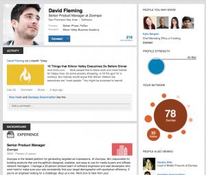 linkedin new profiles