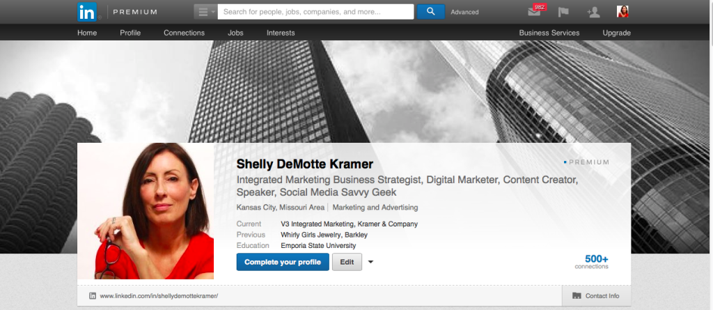 Shelly Kramer profile
